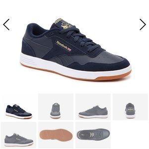 Reebok Club MEMT Sneaker Navy Suede NWOT
